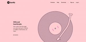 Spotify.com/404