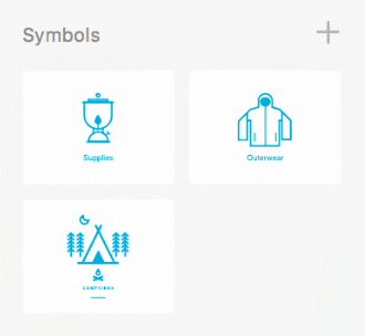 Adobe XD review of symbols